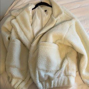 Zaful Sherpa coat